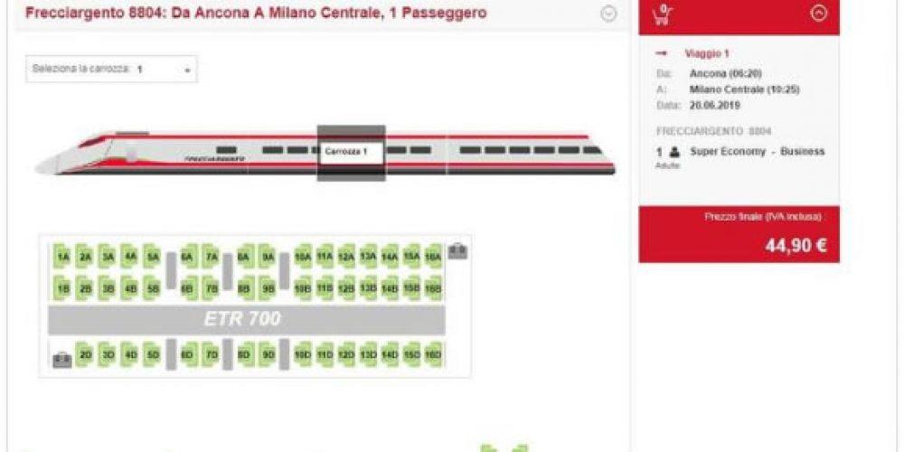 Ferrovie: ETR 700 Frecciargento …